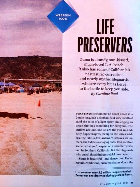 Sunset Article - Zuma Beach | 20th Century Zuma Lifeguards
