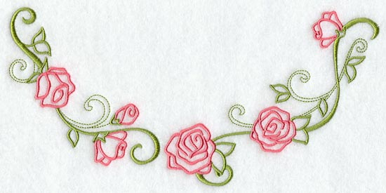 A fashion club embroidery neckline designs