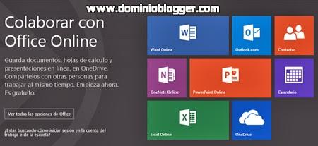 Utiliza la herramienta de Microsoft Office online para todos tus proyectos.