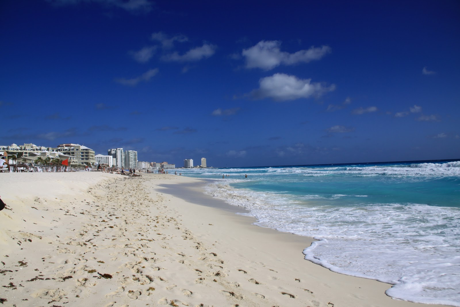 my scenic byway: cancun beach scenes