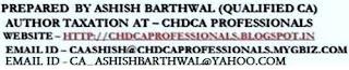CA ASHISH BARTHWAL
