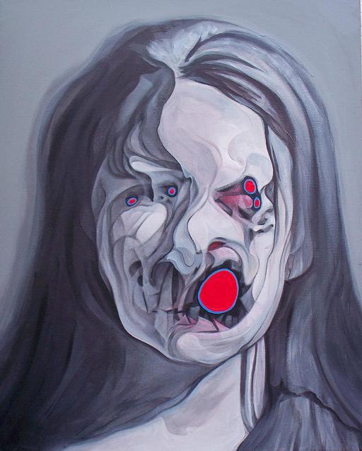 buddy nestor pinturas rostos distorcidos bizarros
