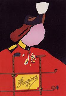 Obra de Eduardo Arroyo litografía titulada: Elizabetta