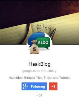 Google Plus Badge