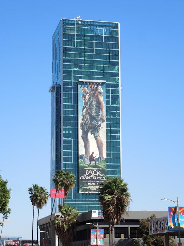 Jack Giant Slayer billboard