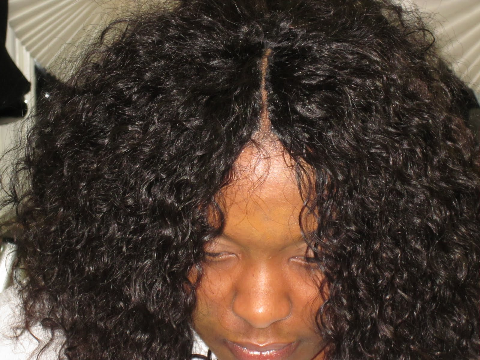 hair by benita blocker pictured is an invisi part quick weave using