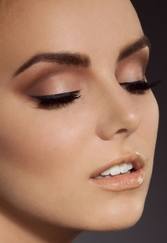 Makeup Ideas For An Evening Wedding : I want pretty: Peinado y maquillaje para Navidad y ano ...