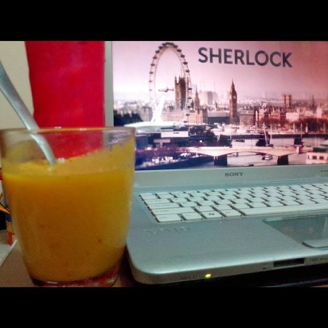 Mango, Apple and Orange Shake, FTW Blog