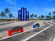 A orla de Aracaju e os arcos que são o símbolo da cidade