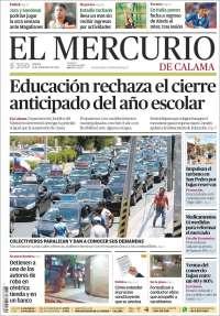 21/11/2019 PRIMERA PÁGINA DE EL MERCURIO DE CHILE