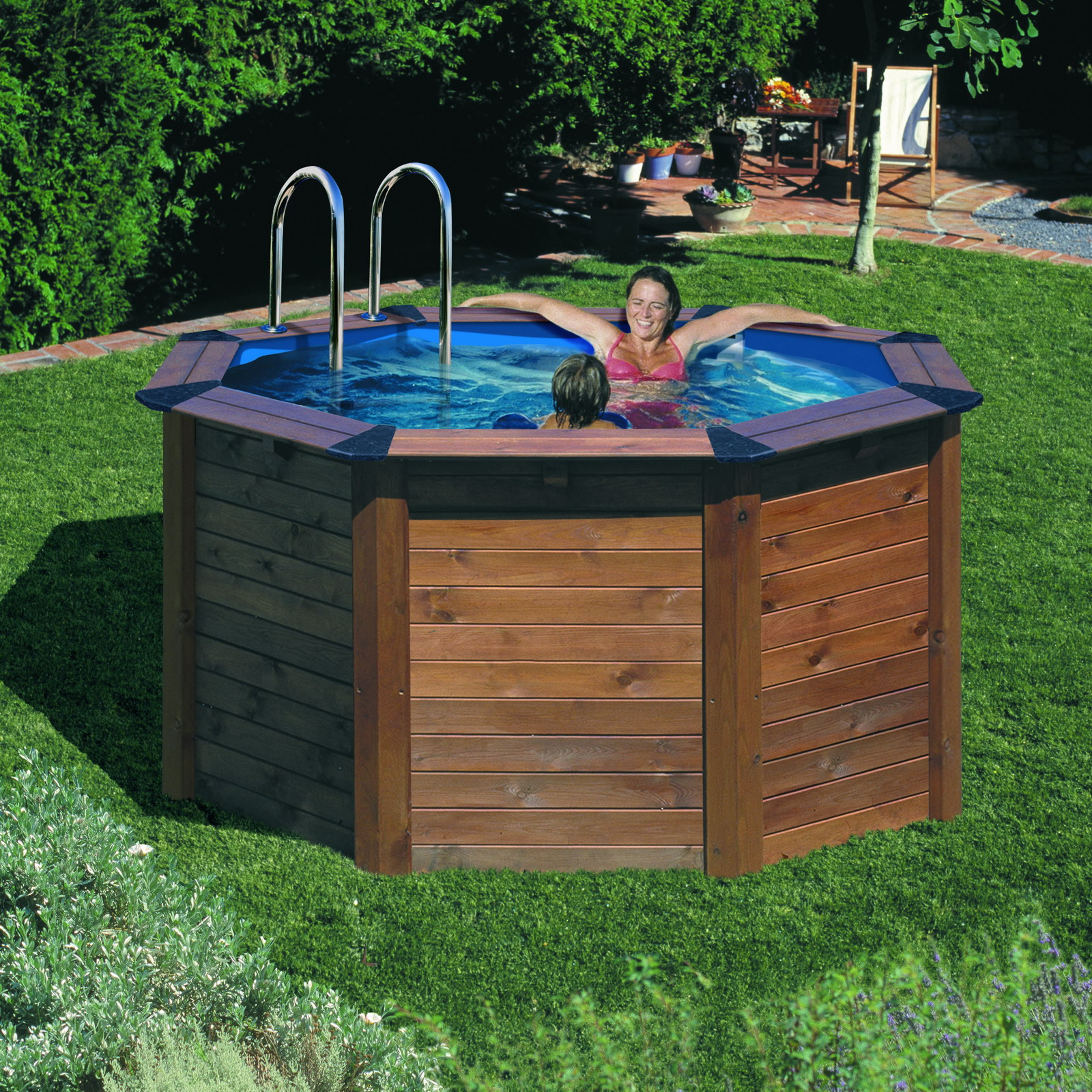 Piscine autoportante for Piscine hors sol bois 4x2