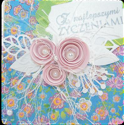 z najlepszymi życzeniami stempel pieczątka lemonademarianne design róże chińskie wykrojnik kartka na urodziny galeria papiery lemonade after the rain