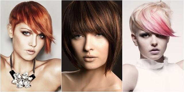 model potongan rambut wanita 2013