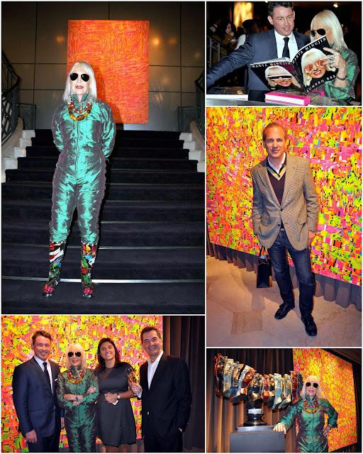 Marta Minujin inauguró su muestra de arte en el Hotel The Brick