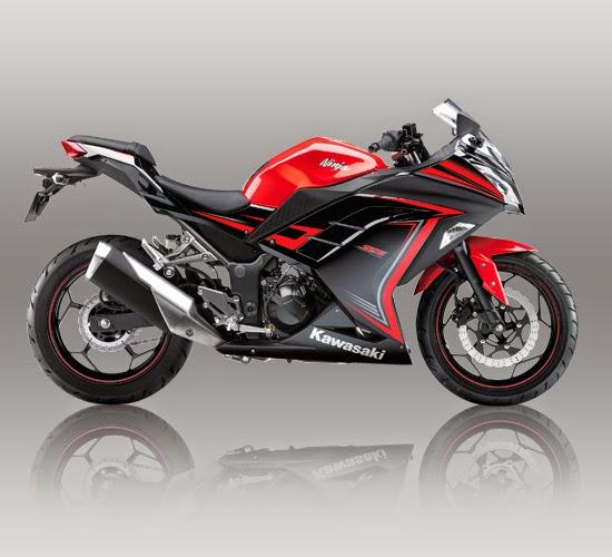 gambar motor Kawasaki Ninja 250 FI SE