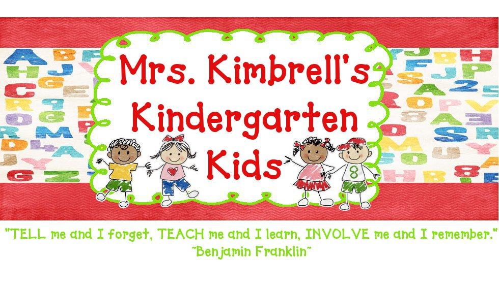 Mrs. Kimbrell&#39;s Kindergarten