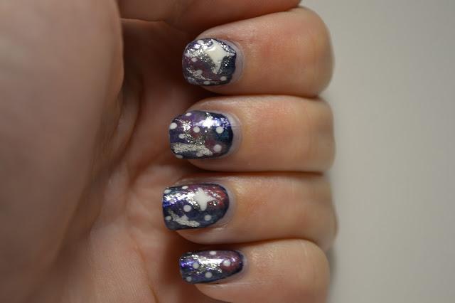 Galax Nail Art av Elins Naglar