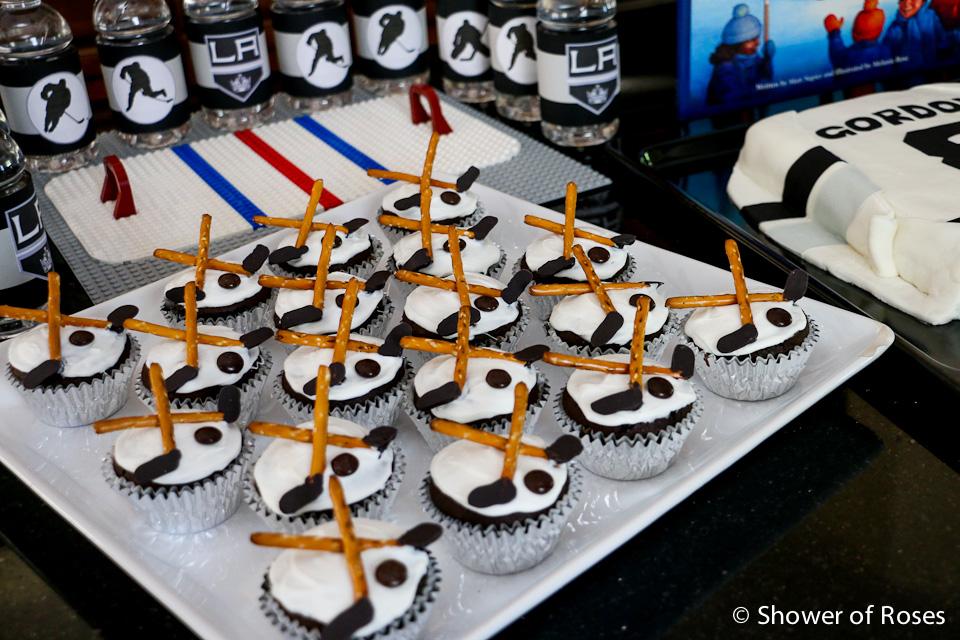 Hockey Birthday Cake Decorations