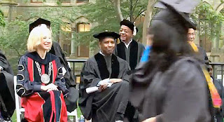 UPenn and Denzel Washington and Amy Gutmann