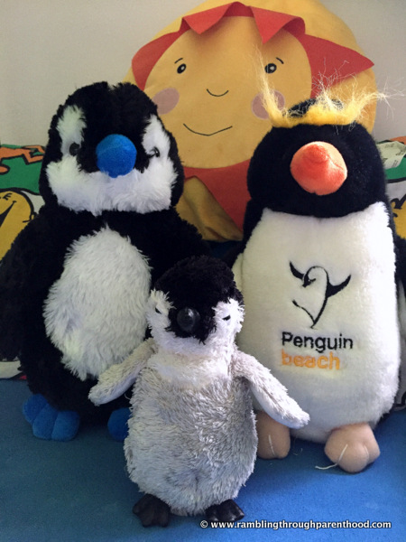 Mstr J's Penguin family