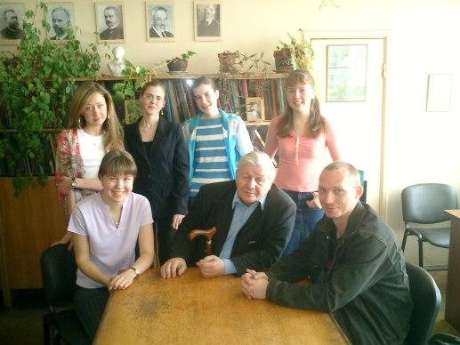 Александр Сергеевич Орлов со студентами