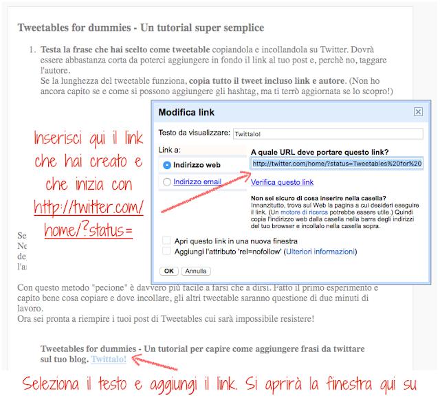 come aggiungere un tweetable al blog in maniera facile e veloce. chiedi alle pecione!