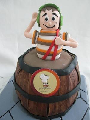 TORTA CHAVO DEL OCHO CHESPIRITO