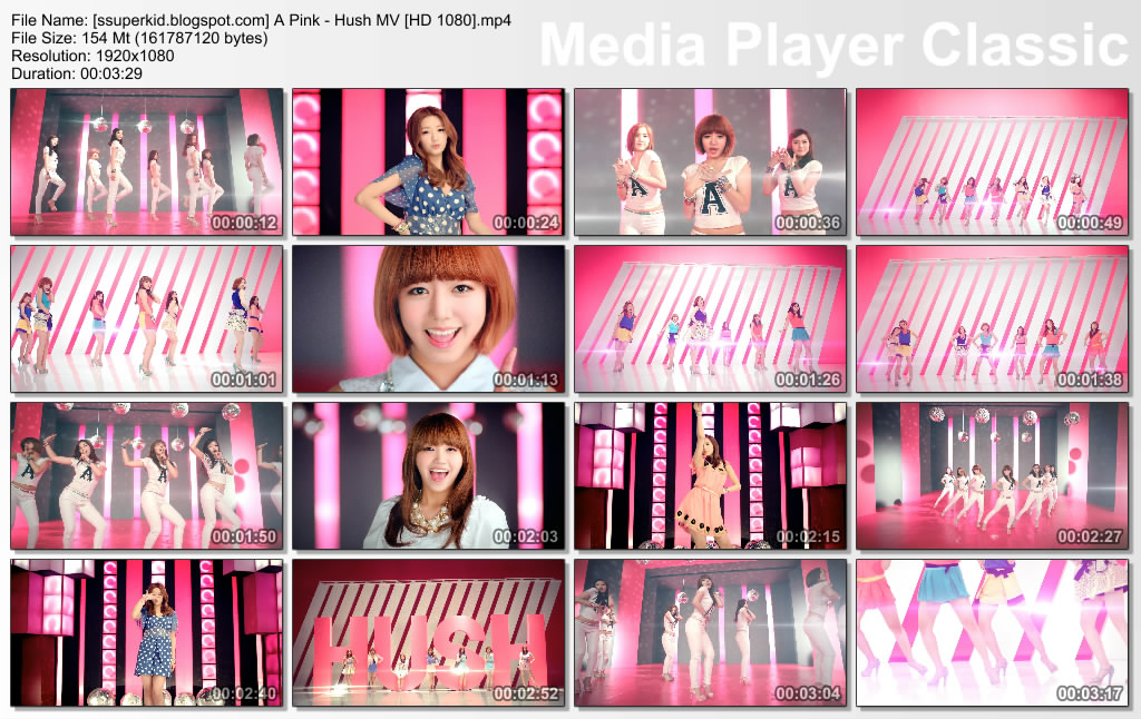 Pink - Hush MV [HD 1080p]