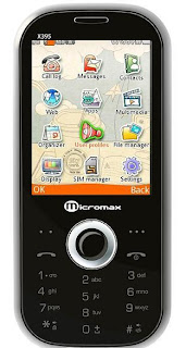 Micromax x395 Features