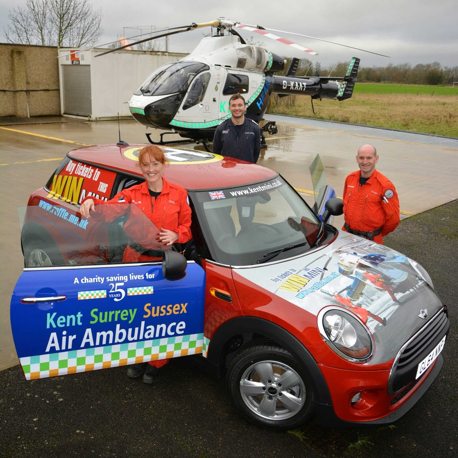 Fitted In Sussex Surrey And Kent: Kent, Surrey & Sussex Air Ambulance: Win A Mini At Swan Centre
