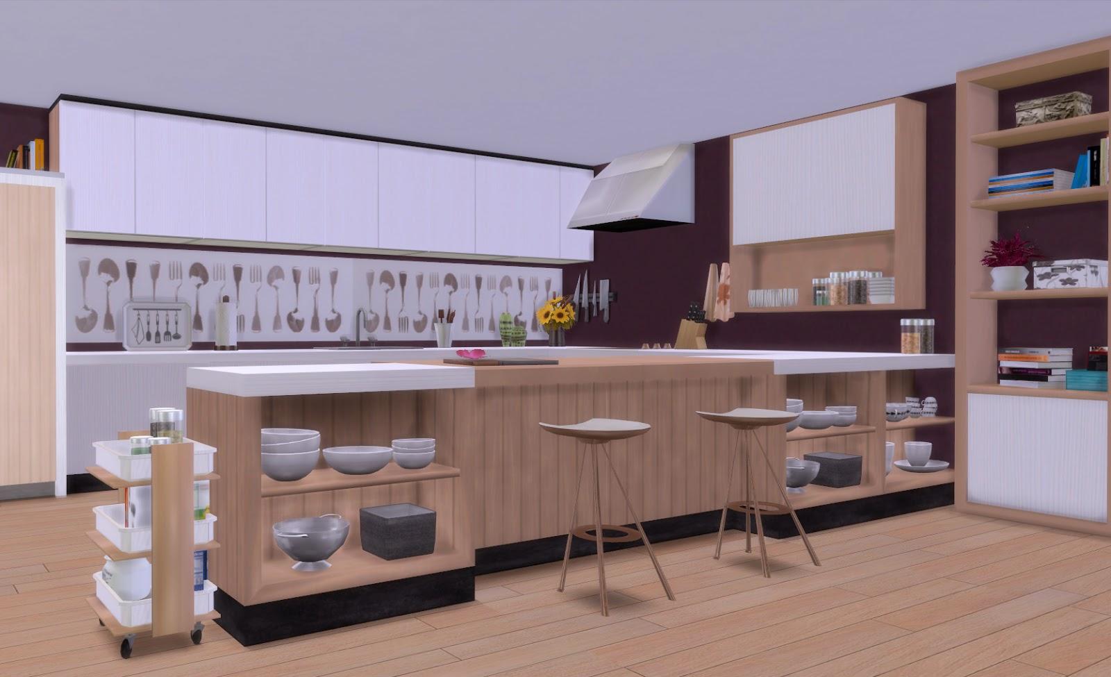 Sims 4 cocina firence - Isletas de cocina ...
