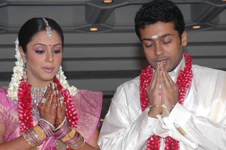 Surya & Jhothika Marriage