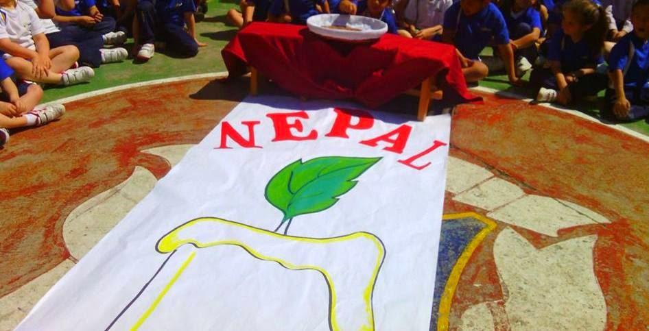 AYUDAMOS A NEPAL