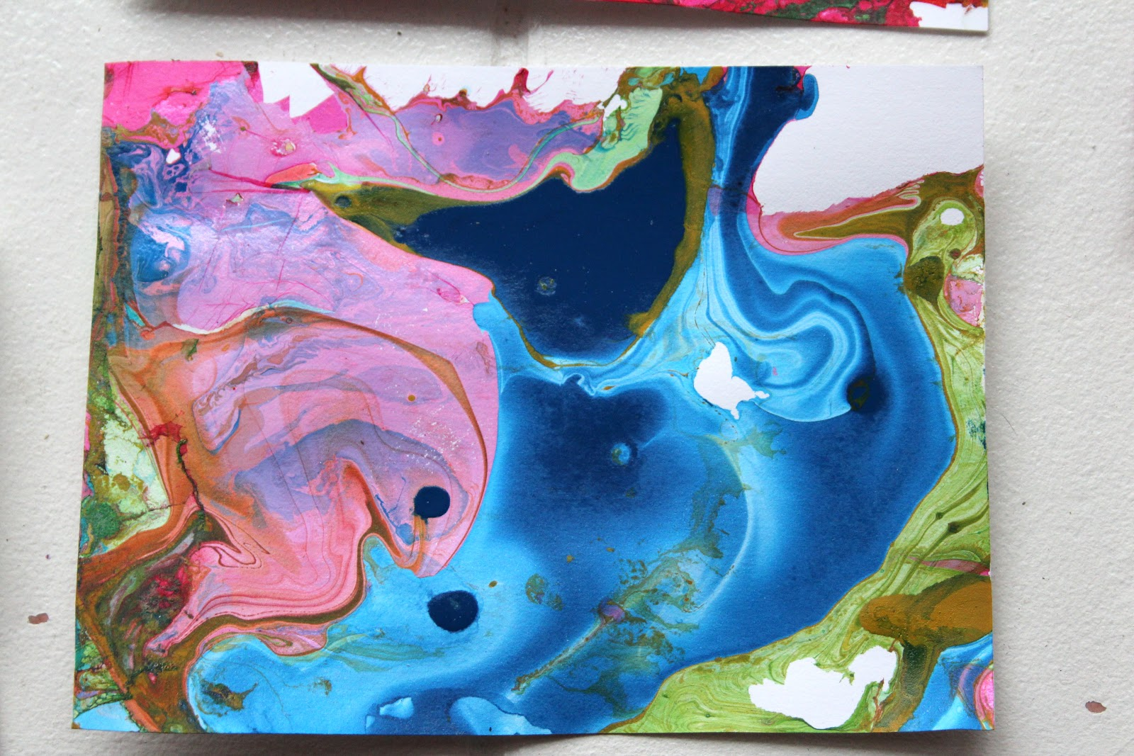 Sink Enamel Paint Swirl Painting With Enamel Paints And Shinekids Shine Your Light