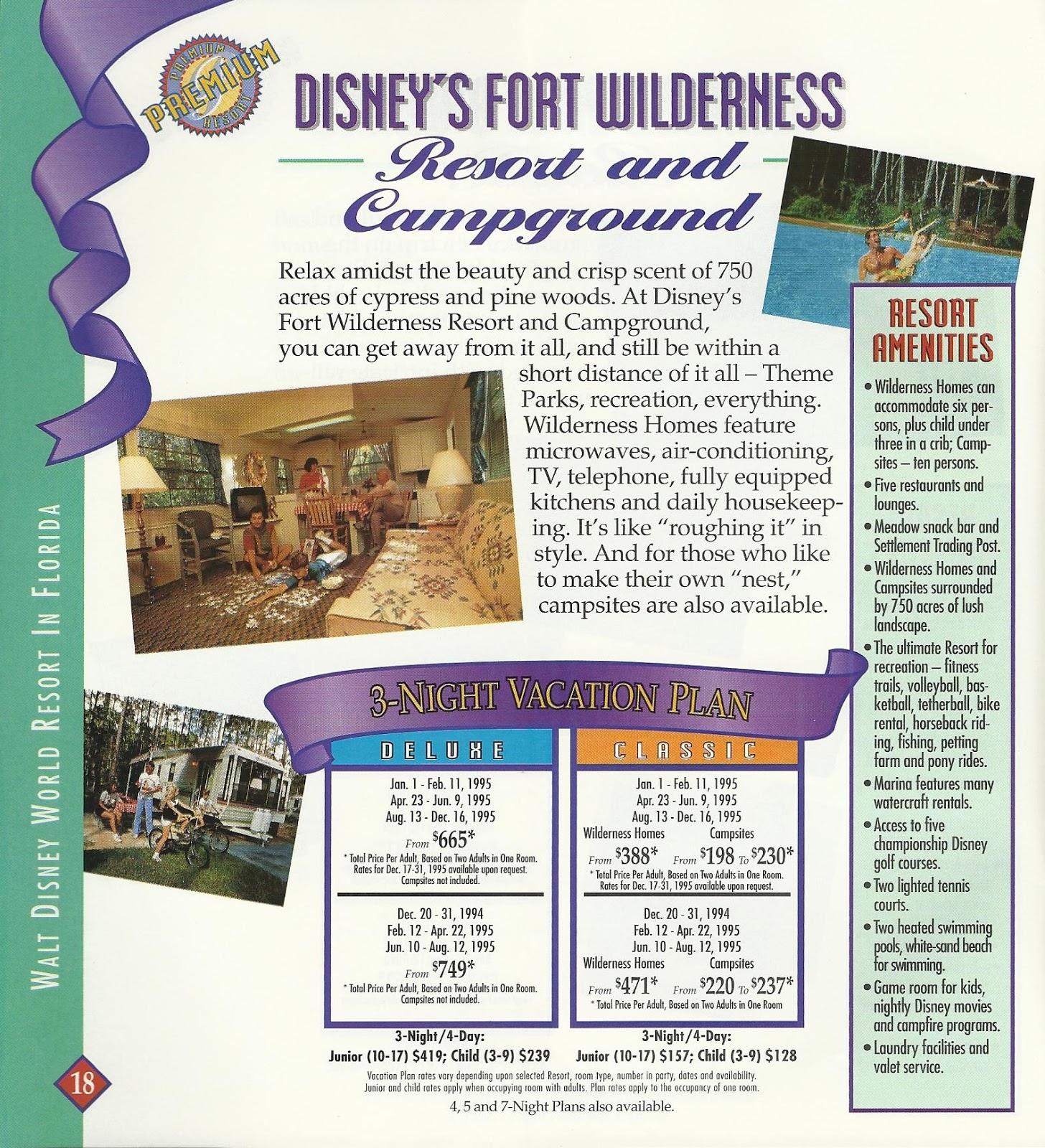 Disney Vacation Kingdom: 1995 Magic Kingdom Club Membership Guide