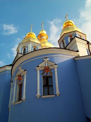 Окна Михайловского собора