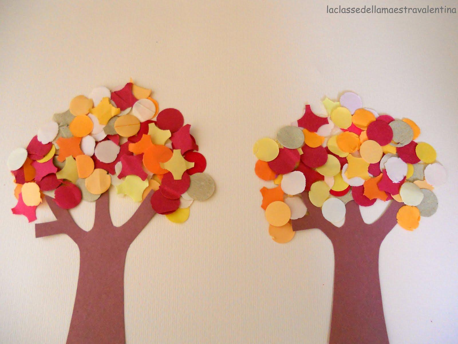La classe della maestra valentina collages d autunno for La classe della maestra valentina primavera