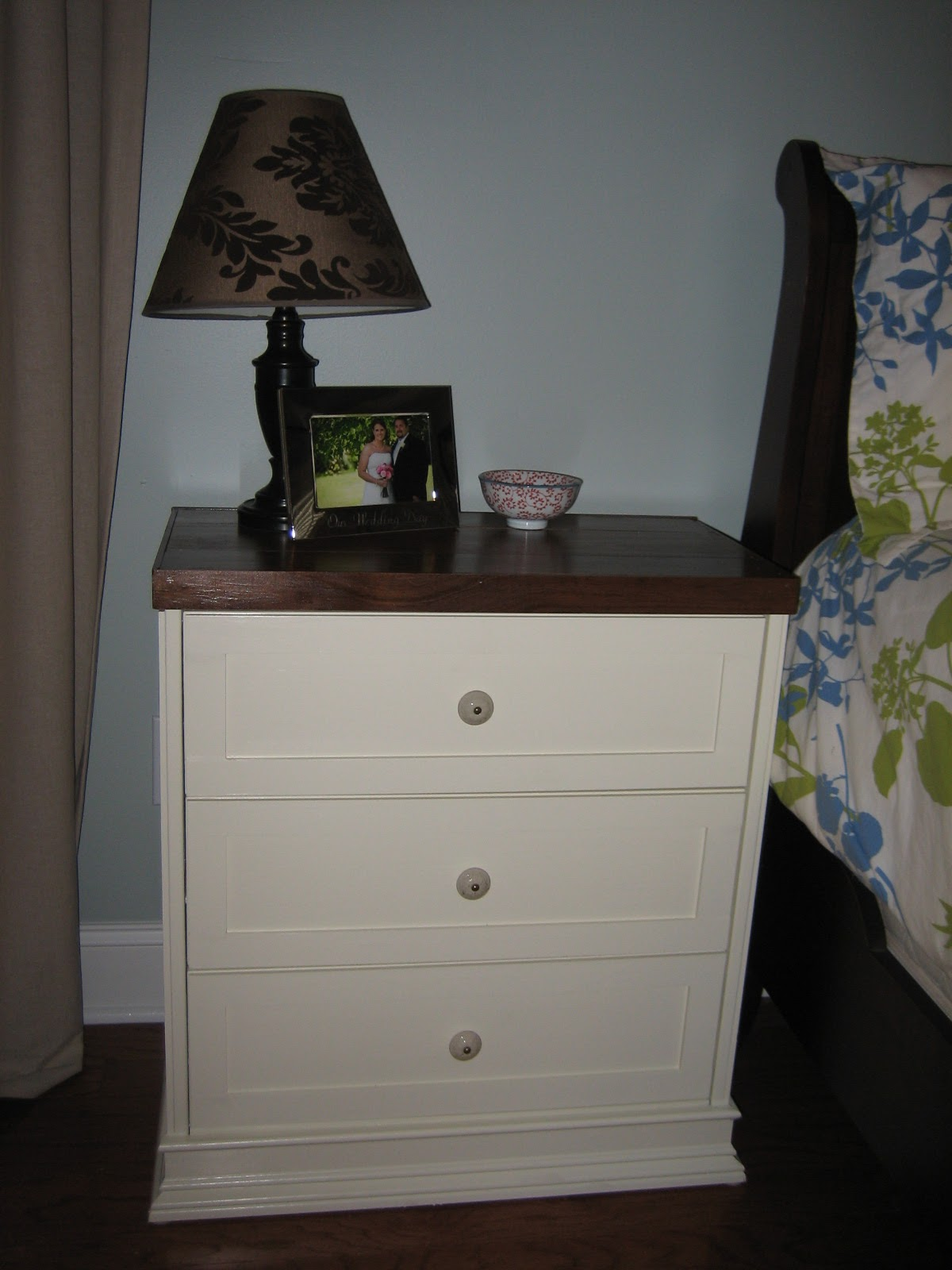 ikea rast hack new nightstands the turquoise home. Black Bedroom Furniture Sets. Home Design Ideas