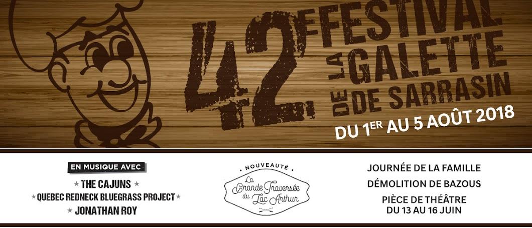 Festival de la Galette de Sarrasin à Saint-Lazare-de-Bellechasse - 42e édition