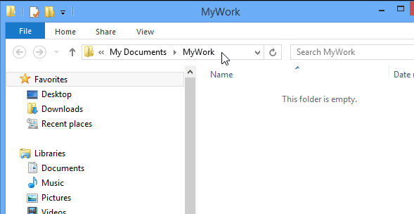 Cara Merubah Lokasi Default File Explorer Pada Windows 8