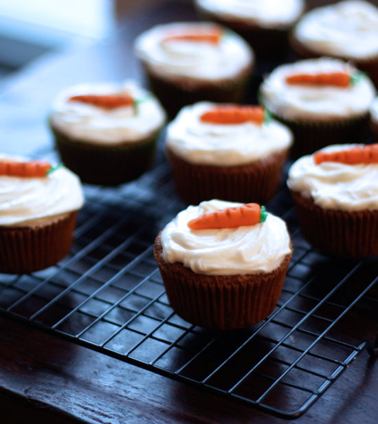 The SoHo: Carrot Cake Cupcakes