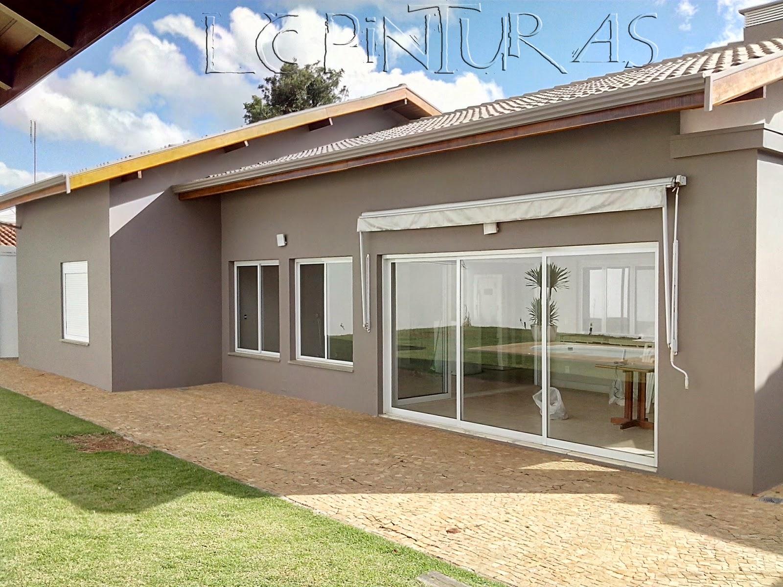 Pintura externa de casas simples pintura externa de casas for Pintura casa moderna