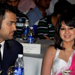 Cricketer Dhoni His Wife Sakshi Bcci Awards