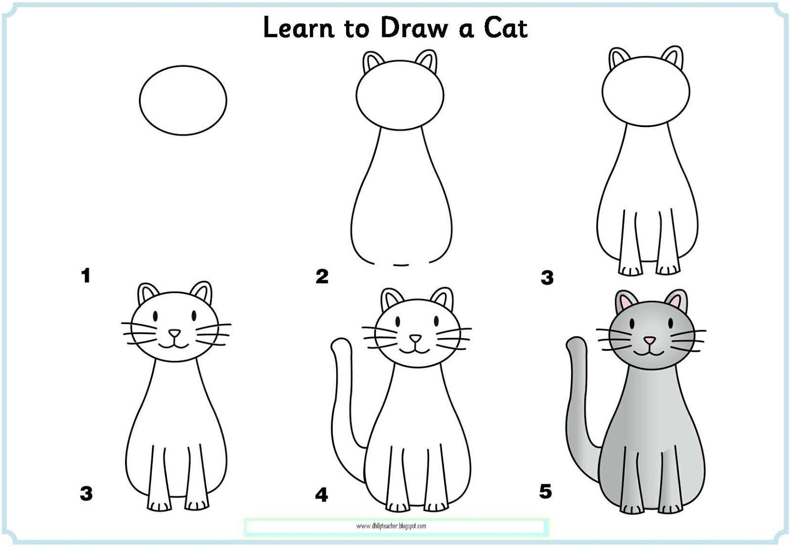 Трафареты кошек и котов для декора своими руками - Усатики 47