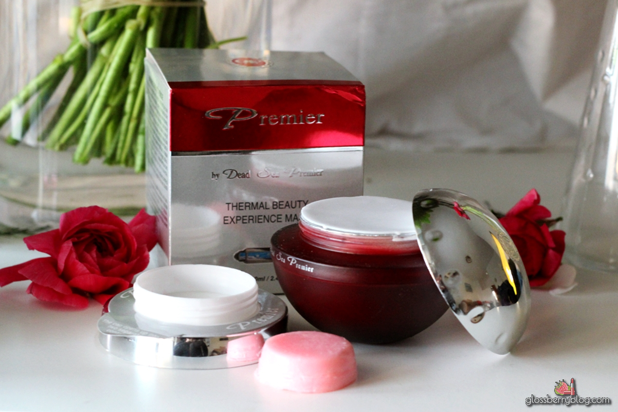 Premier - Biox Thermal Beauty Experience Mask / מסכה תרמית מבית פרמייר ים המלח סקירה גלוסברי בלוג איפור וטיפוח