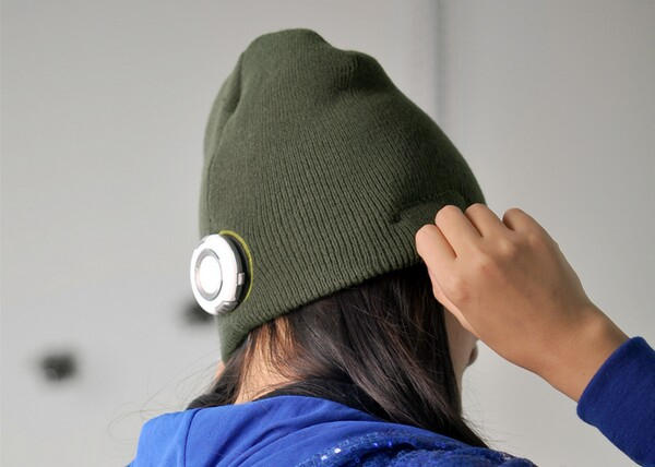 Beanie Hat with Built-in MP3 Player