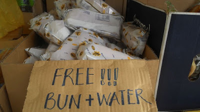 Bersih 4: Free buns and water