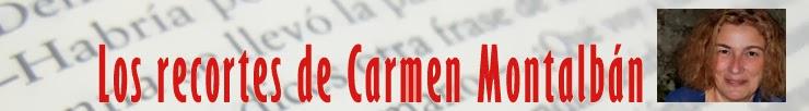 Los recortes de Carmen Montalbán