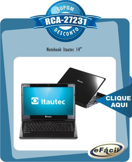 Notebook Itautec A7520 14