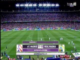 اهداف مباراة أتلتيكو مدريد و ريال مدريد 1- 0 مباراة العودة فى كأس السوبر الأسباني 2014